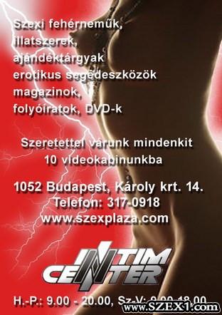 Intim Center, Bp. Károly krt. 14 - nyitva minden nap