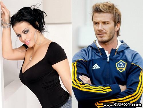 David Beckham bőkezű volt a bosnyák ribanccal