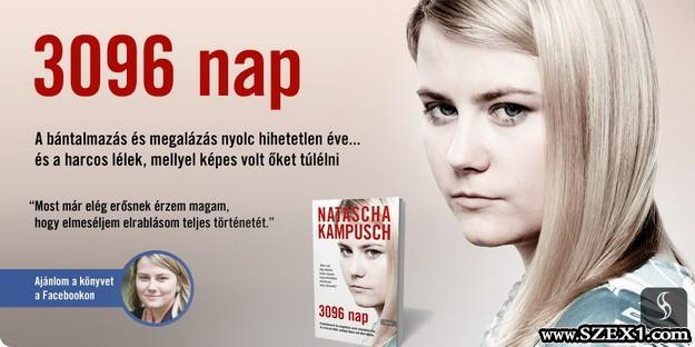 Natascha Kampusch 3096 napja könyvből részlet