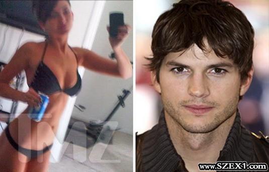 Ashton Kutcher nőjének, Brittney Jones pornója