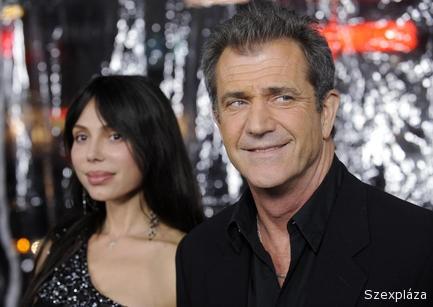 Mel Gibson szex közben is verte Okszana Grigorjevát
