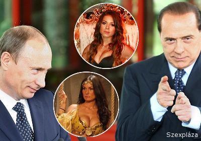 Berlusconi és Putyin együtt kurváztak