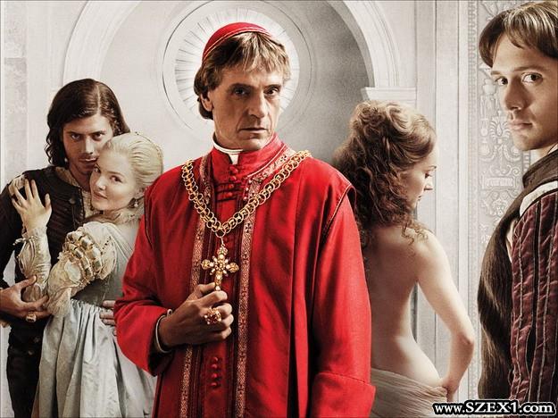 Jeremy Irons a Borgia pápa