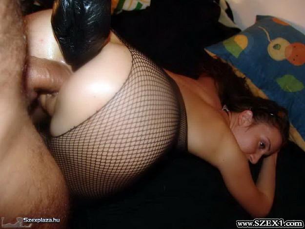 Miszlay Barbara szexshop vásárlásából extrém baszás