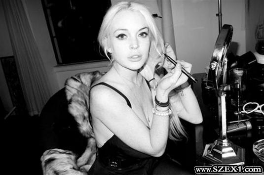 A nagyfaszú Terry Richardson elkapta Lindsay Lohant