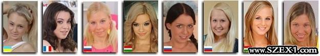 Adult színésznők Európa 2