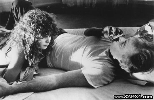 Maria Schneider és az idősebb Marlon Brando románca