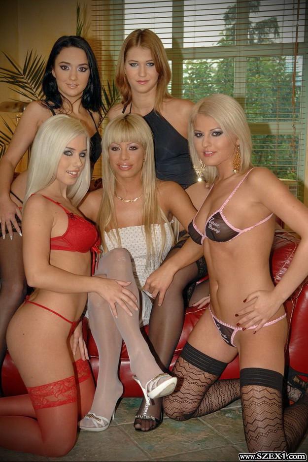 Magyar pornós csajokkal ütős szex