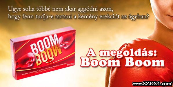 A Boom Boom potencianövelővel olyanokat dugsz, hogy nem is gondolnád